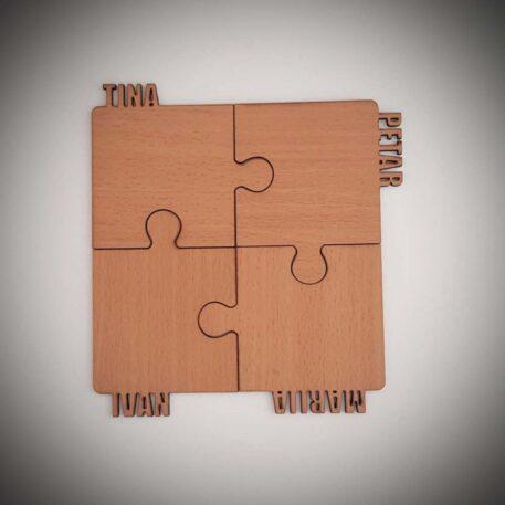 set podmetača puzzle