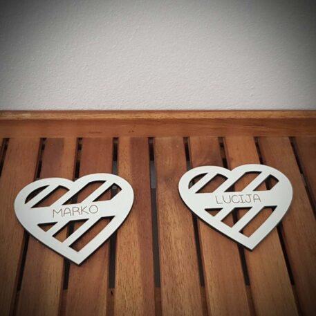 set podmetača srce