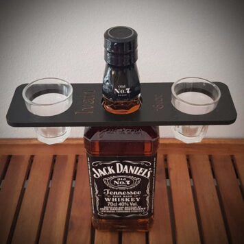 držač za piće gravirani
