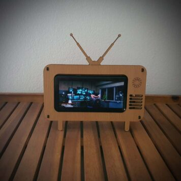 retro tv stalak